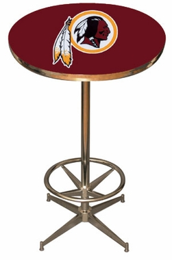 Washington Redskins Team Pub Table