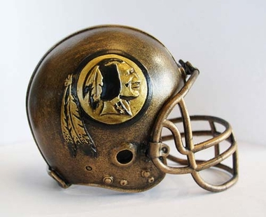 Washington Redskins Tim Wolfe Helmet Statue