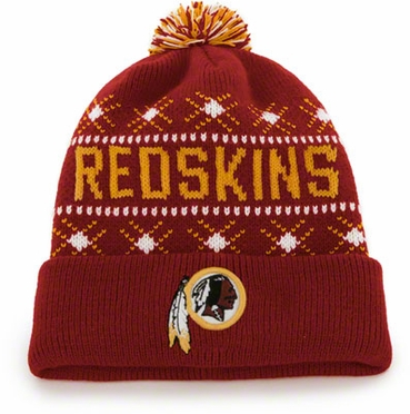 Washington Redskins Tip Off Cuffed Knit Hat