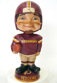 Washington Redskins Vintage Retro Bobble Head
