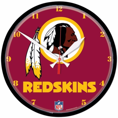 Washington Redskins Wall Clock