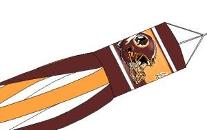 Washington Redskins Windsock