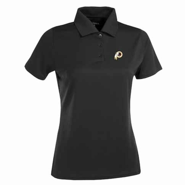 Washington Redskins Womens Exceed Polo (Team Color: Black)