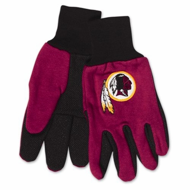 Washington Redskins Work Gloves (Adult)