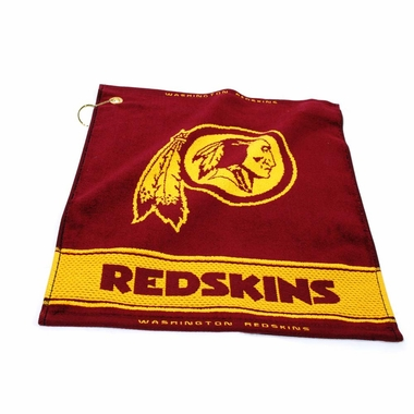 Washington Redskins Woven Golf Towel