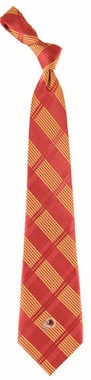 Washington Redskins Woven Plaid Necktie