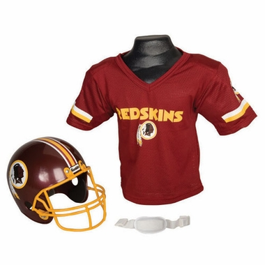 Washington Redskins Youth Helmet and Jersey Set