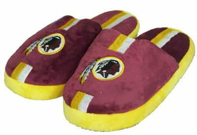 Washington Redskins YOUTH Team Stripe Slide Slippers