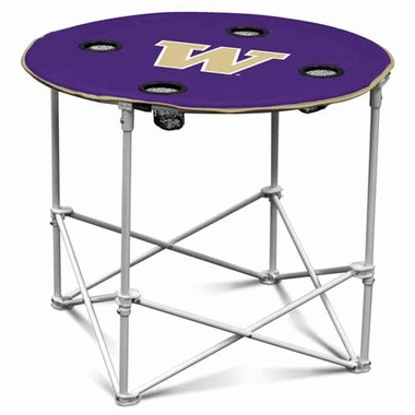 Washington Round Tailgate Table