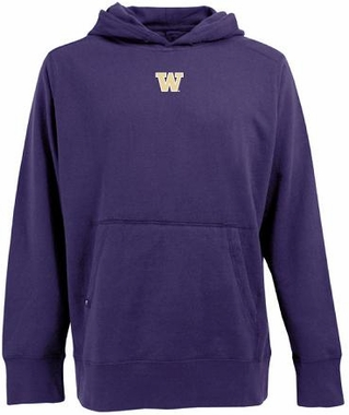 Washington Mens Signature Hooded Sweatshirt (Team Color: Purple)