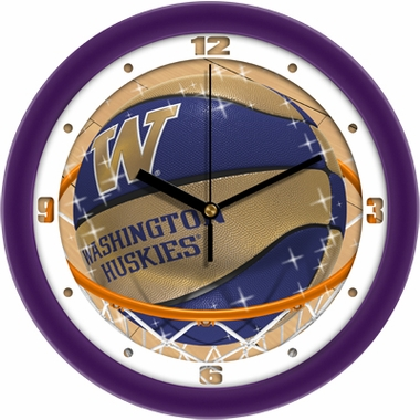 Washington Slam Dunk Wall Clock