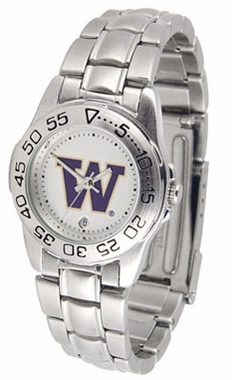 Washington Sport Women's Steel Band Watch