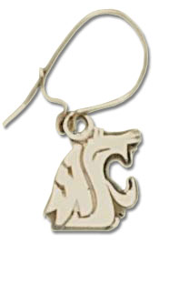 Washington State 10K Gold Post or Dangle Earrings