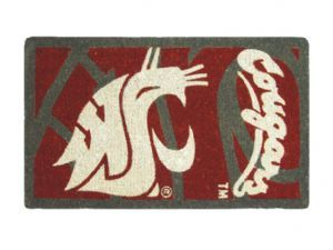 Washington State 18x30 Bleached Welcome Mat
