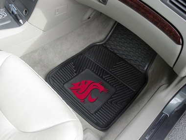 Washington State  2 Piece Heavy Duty Vinyl Car Mats