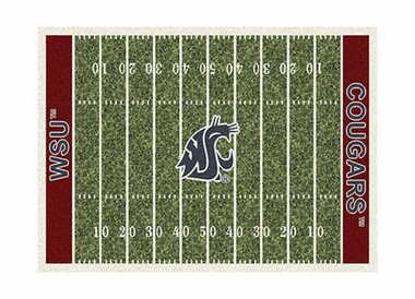 "Washington State 3'10"" x 5'4"" Premium Field Rug"