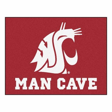 Washington State 34 x 45 Man Cave Rug