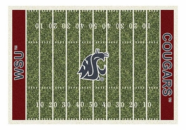 "Washington State 5'4"" x 7'8"" Premium Field Rug"