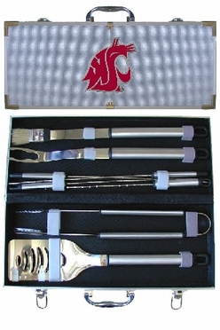 Washington State 8pc. BBQ Set w/Case