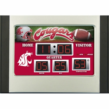 Washington State Alarm Clock Desk Scoreboard