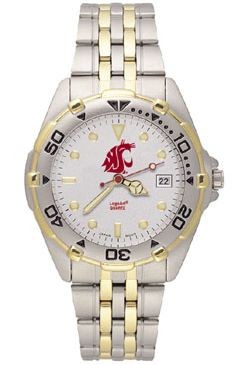 Washington State All Star Mens (Steel Band) Watch