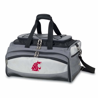 Washington State Buccaneer Tailgating Embroidered Cooler (Black)