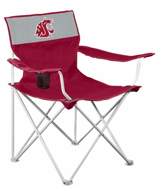 Washington State Canvas Adult Folding Logo Chair