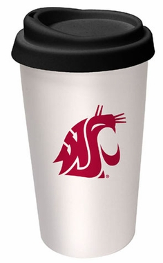 Washington State Ceramic Travel Cup