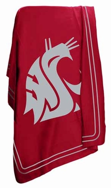 Washington State Classic Fleece Throw Blanket