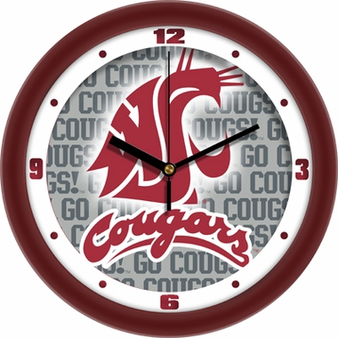 Washington State Dimension Wall Clock