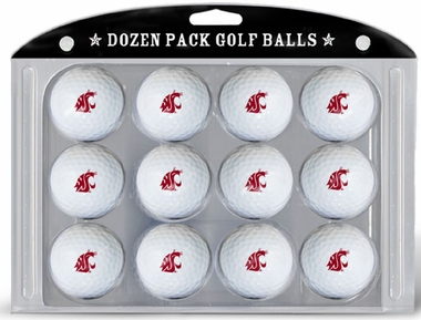 Washington State Dozen Golf Balls