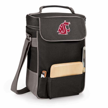 Washington State Duet Compact Picnic Tote (Black)