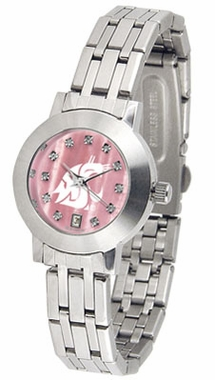 Washington State Dynasty Women's Mother of Pearl Watch