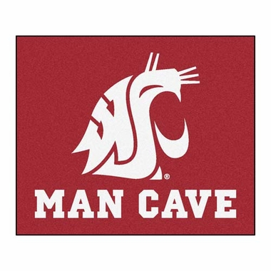 Washington State Economy 5 Foot x 6 Foot Man Cave Mat
