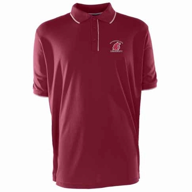 Washington State Mens Elite Polo Shirt (Team Color: Maroon)