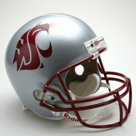 Washington State Cougars Riddell Deluxe Replica Helmet