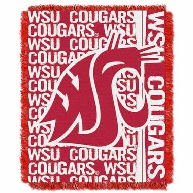 Washington State Jacquard Woven Throw Blanket