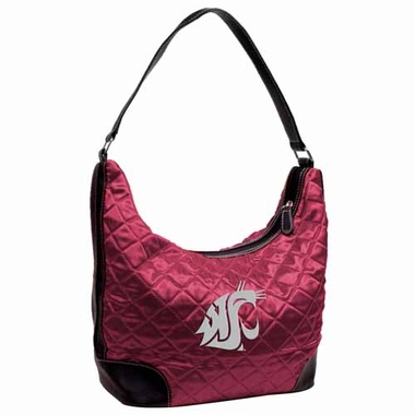 Washington State Quilted Hobo Purse