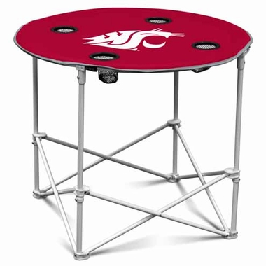 Washington State Round Tailgate Table