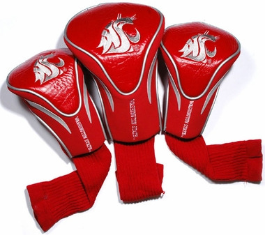 Washington State Set of Three Contour Headcovers