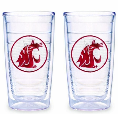 Washington State Set of TWO 16 oz. Tervis Tumblers