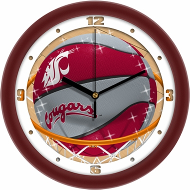 Washington State Slam Dunk Wall Clock