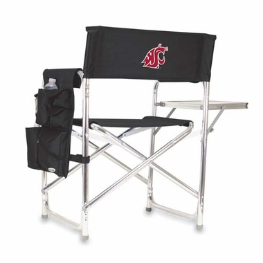 Washington State Sports Chair (Black)