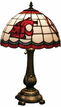 Washington State Stained Glass Table Lamp