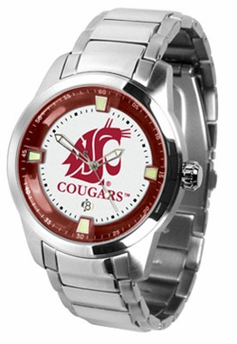 Washington State Titan Men's Steel Watch
