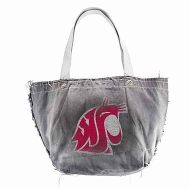 Washington State Vintage Tote (Black)