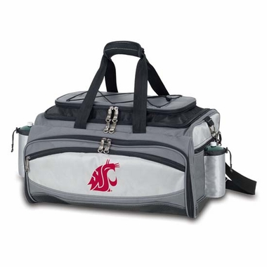 Washington State Vulcan Embroidered Tailgate Cooler (Black)