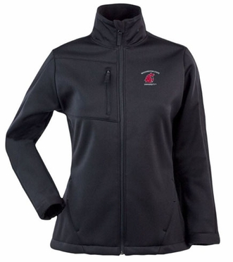 Washington State Womens Traverse Jacket (Team Color: Black)