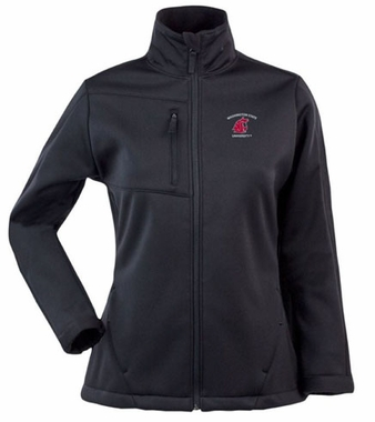 Washington State Womens Traverse Jacket (Color: Black)