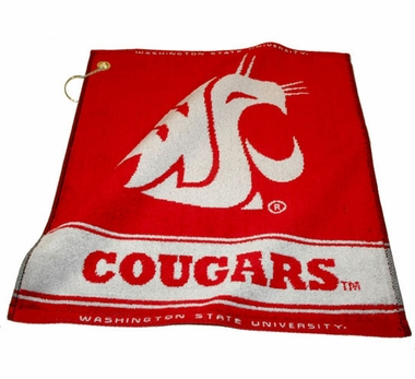 Washington State Woven Golf Towel